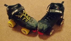 Scruffy skates