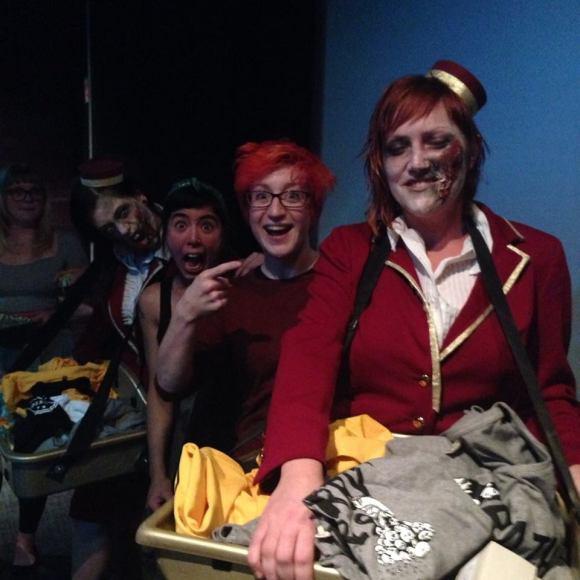 Zombie Usherettes!
